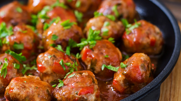 Receita Caseira Italiana: Almôndegas de Carne